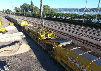 Guaranteed efficiency and quality for minimum interruption of rail operations.