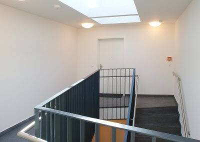 Auch im Innenbereich zeigt sich das Quartier 6 von einer einladenden Seite.