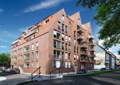 Each apartment on the banks of the river Weser in Bremen has outdoor access – either by means of a balcony or a loggia.