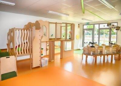 Die Innenräume könnten im Zuge einer Nachnutzung auch als Wohnräume fungieren.