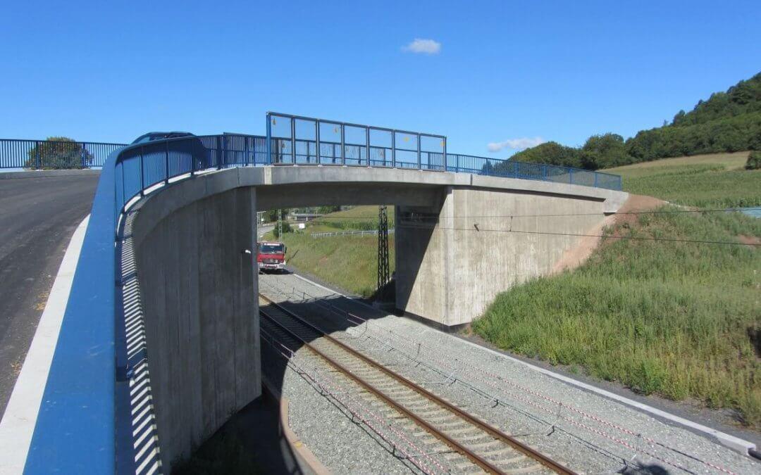 Streckenanbindung bei Coburg